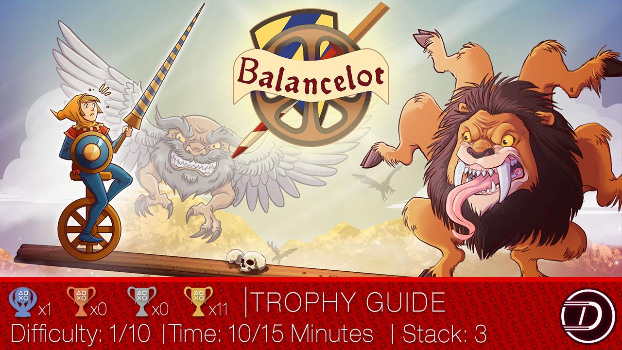 Balancelot Trophy Guide