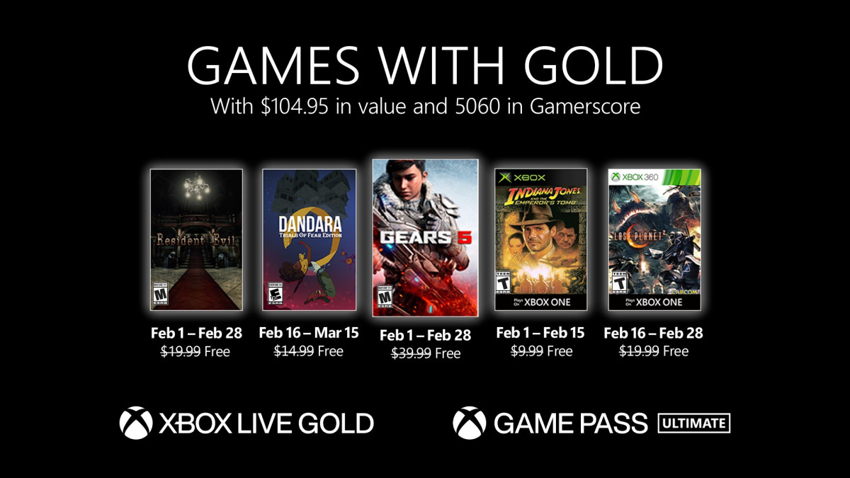 These are the Games with Gold games of February 2021
