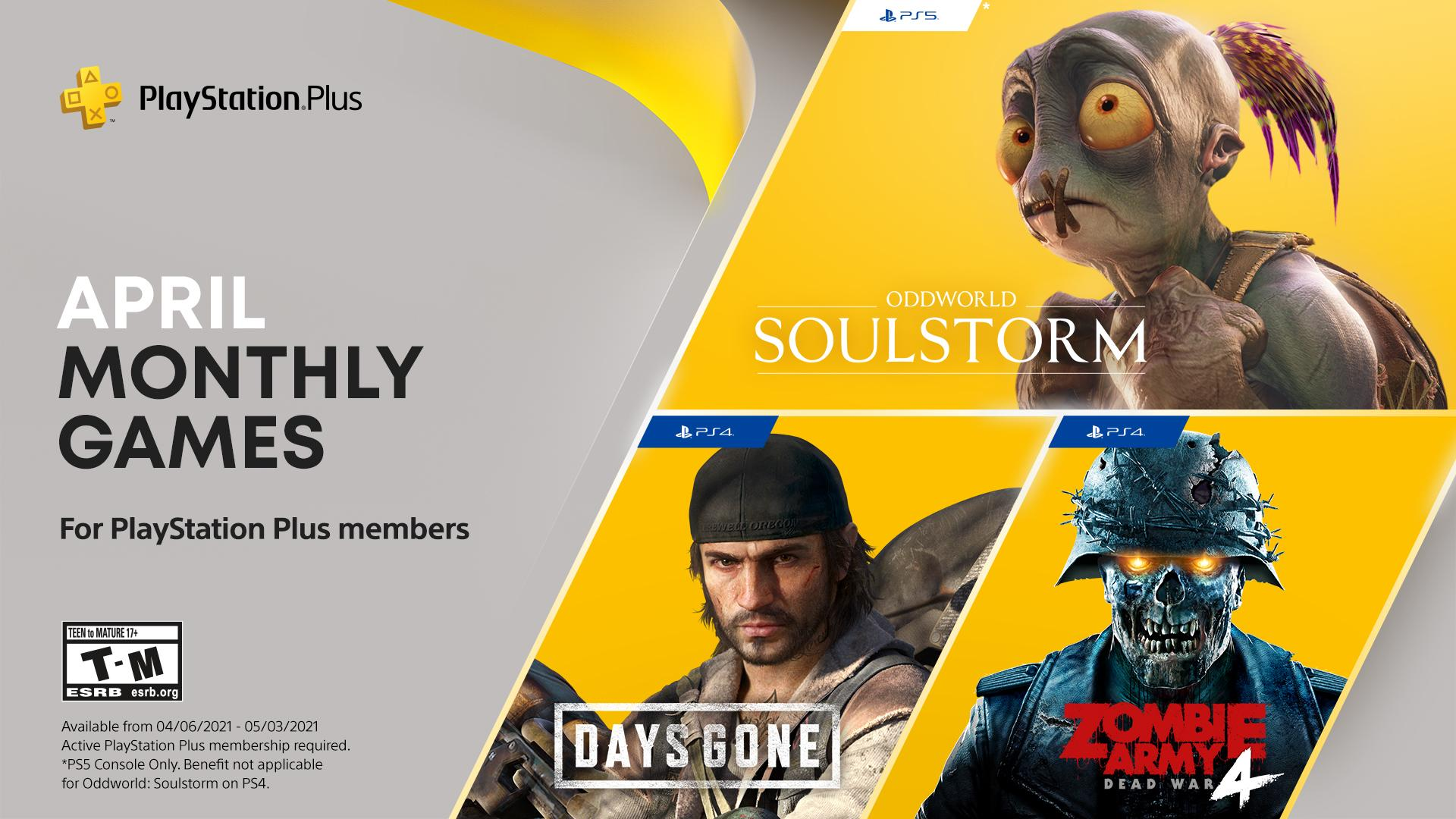 These are the PlayStation Plus games of April 2021
