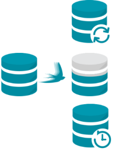 Database migration icon