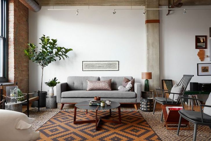 Awesome Industrial Living Room