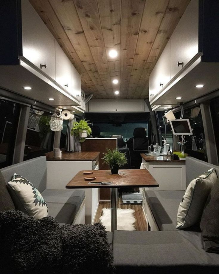 Awesome Modern RV Camper Interior
