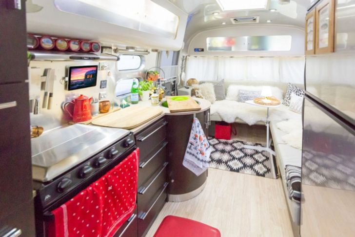 Beautiful Modern Airstream Interior