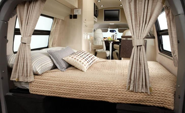 Cozy Modern RV Camper Interior