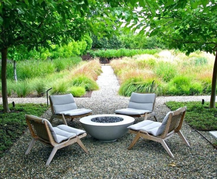 DIY Fire Pit With Seating Are Ideas