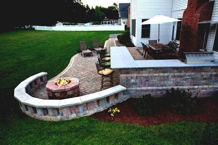 Decorating around a Fire Pit