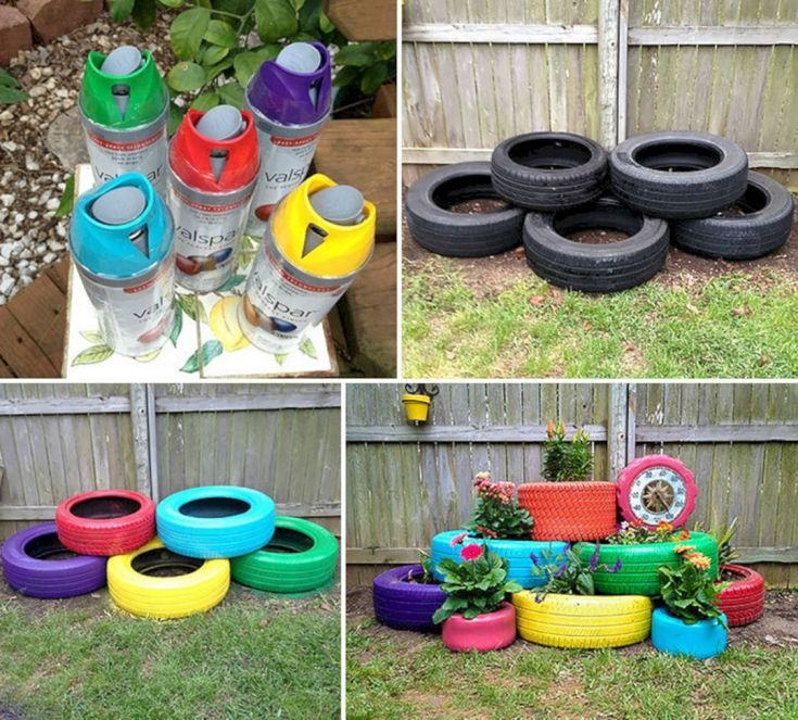 Garden Ideas From Recycled Materials 1018