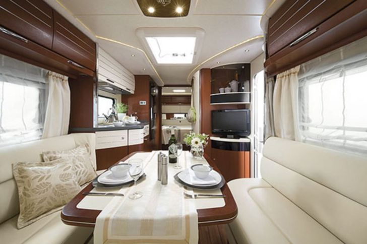 Lovey Modern RV Interior Ideas