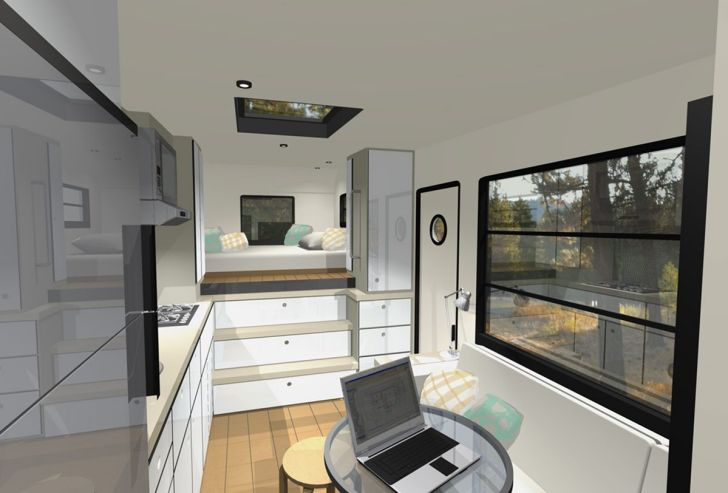 Modern Motorhome Living Ideas