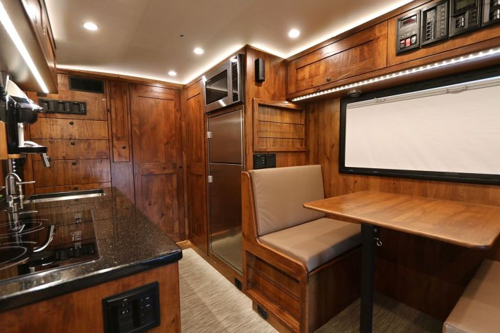 Modern Wooden RV Interior Ideas