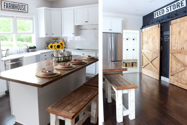 35 Amazing Modern Farmhouse Kitchen Design And Decorating Dexorate