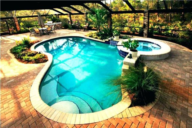 Awesome Small backyards small pools