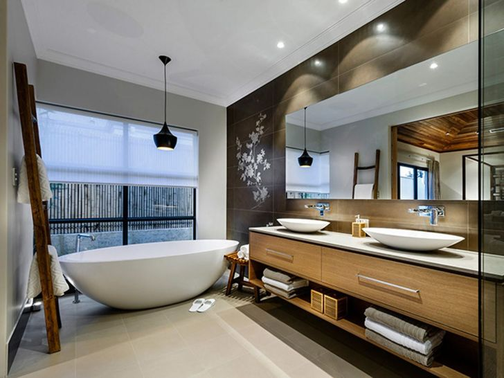 Elegant Contemporary Bathroom Design