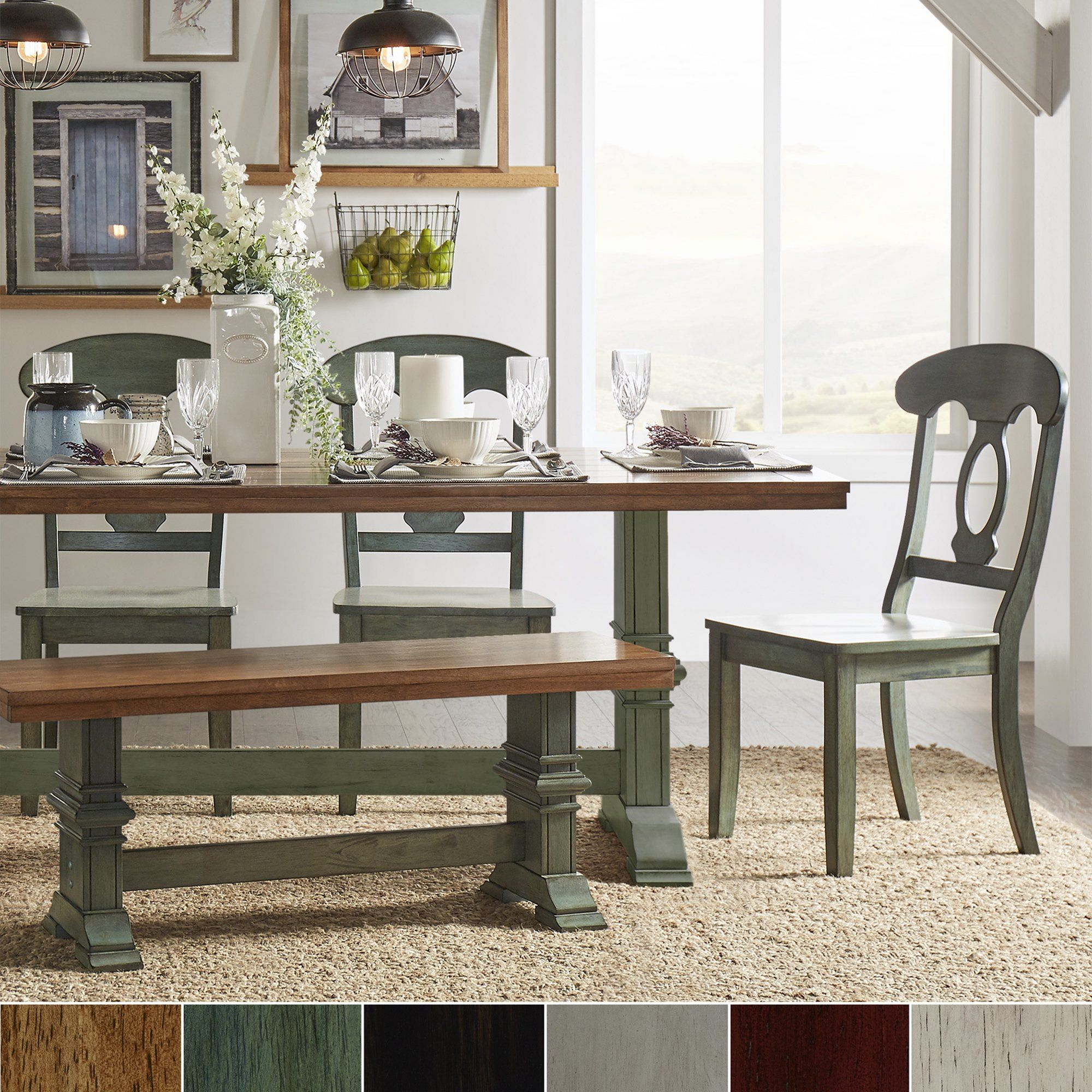 38 Charming Farmhouse Dining Table Designs To Enjoy Your Dinner