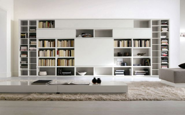 35 Awesome Modern Bookshelf Designs For The Trendy Home Dexorate