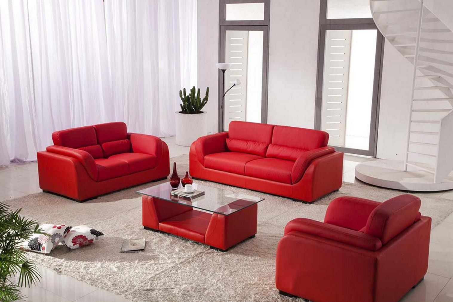 Best And Eye Popping Red Living Room Color Schemes Dexorate