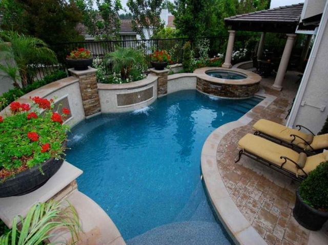 Swimming Pool Designs Small Backyards