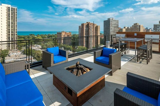 35 Incredible Rooftop Patio Designs With Fire Pit Ideas Dexorate