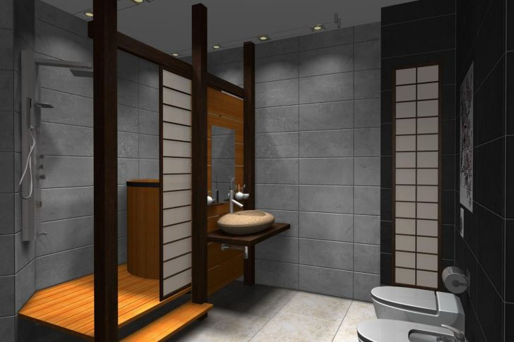 35 Elegant Japanese Bathroom Style For Natural Bathroom