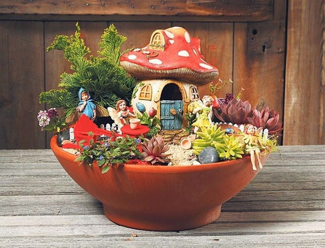 35 Easy And Beautiful Diy Fairy Garden Ideas For Inexpensive Home Decoration Dexorate