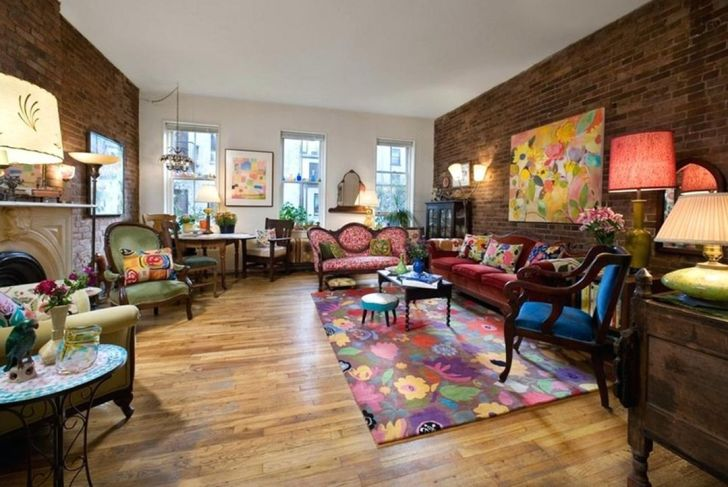 33 Lovely Bohemian Living Room Design And Decoration For ...