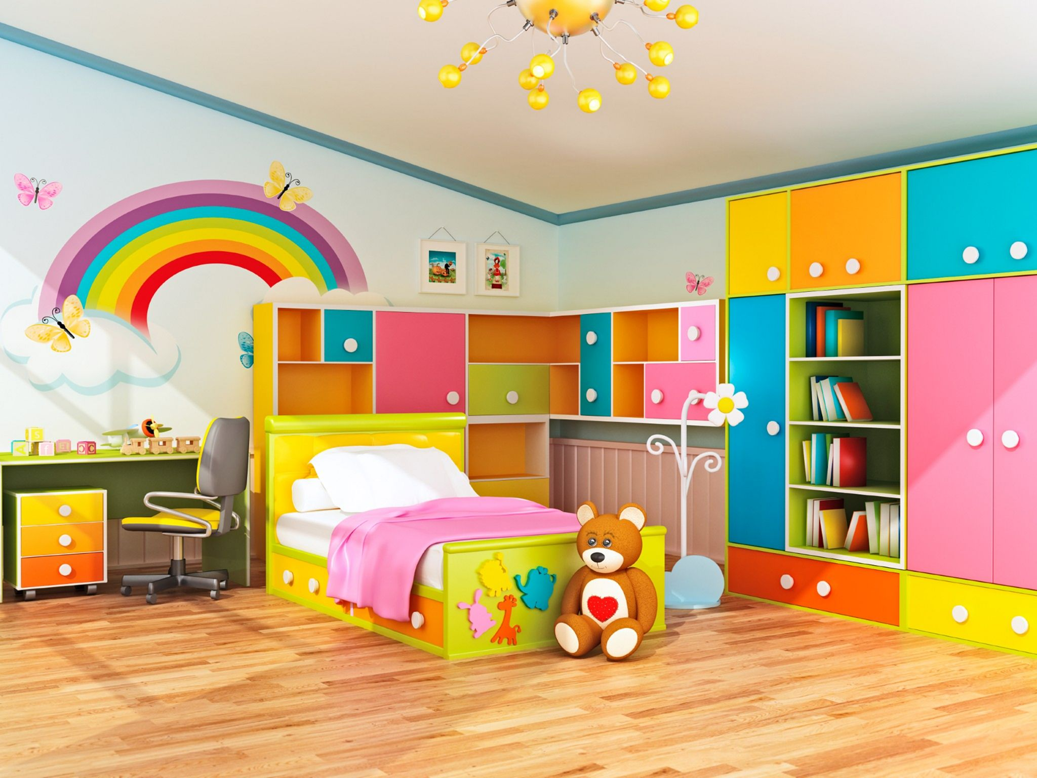 22 Stunning Kids Room Designs For More Fun And Comfortable ...
