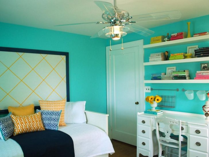 Aqua Color Bedroom Ideas