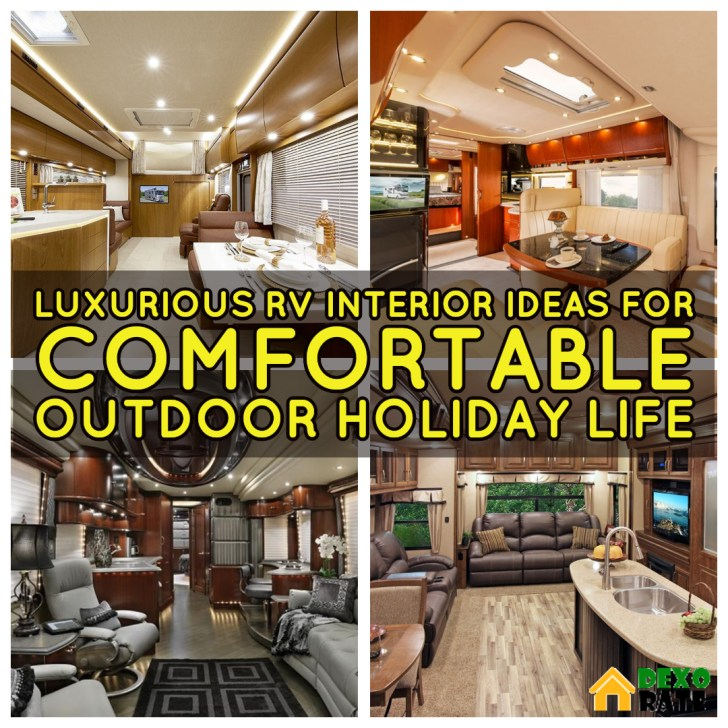 33 Luxurious RV Interior Ideas For Comfortable Outdoor Holiday Life ...