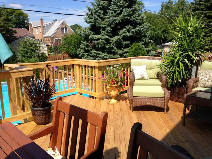 30 Impressive Wooden Deck Design Ideas for Your Backyard ...