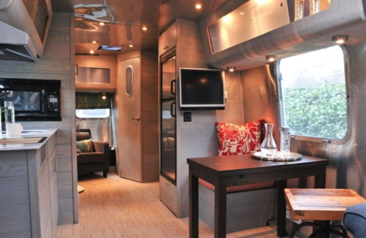 Awesome Vintage Campers Airstream Interior
