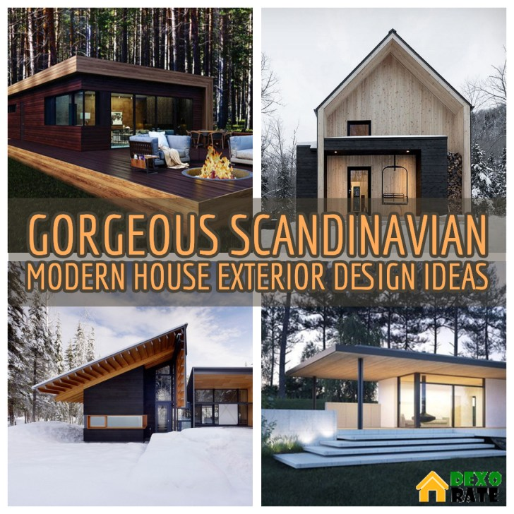 30 Gorgeous Scandinavian Modern House Designs For Perfect