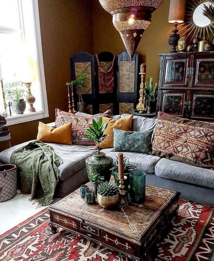 15 Awesome Bohemian Living Room Decoration Ideas Dexorate