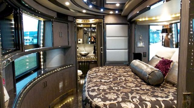 Luxury RV Bedroom Ideas