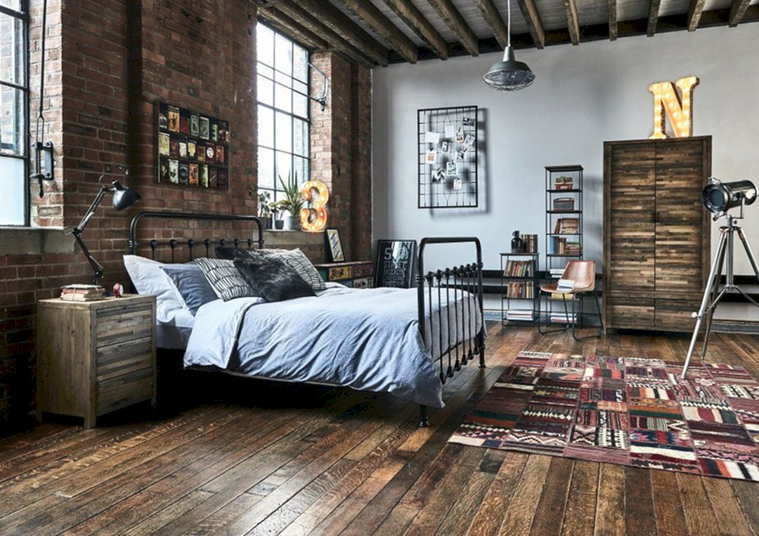 innovative industrial interior design bedroom ideas | 17 Best Industrial Bedroom Design Ideas For To Make ...