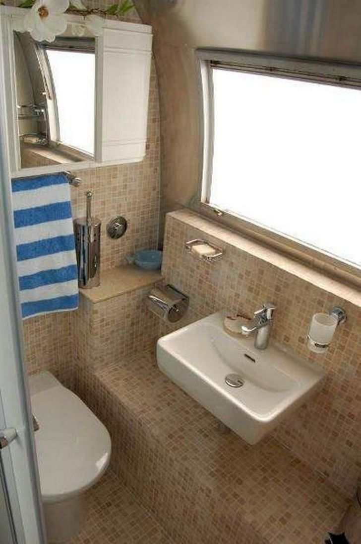 Small RV Bathroom Remodel