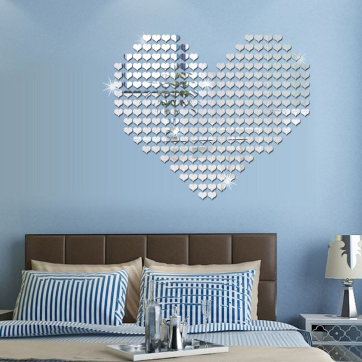 Bedroom Design With Wall Sticker