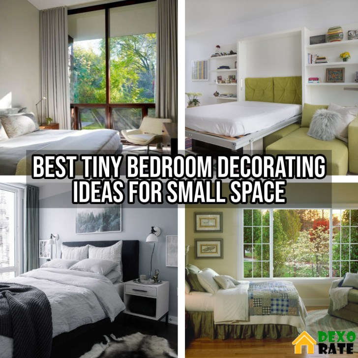 12 Best Tiny Bedroom Decorating Ideas For Small Space - DEXORATE