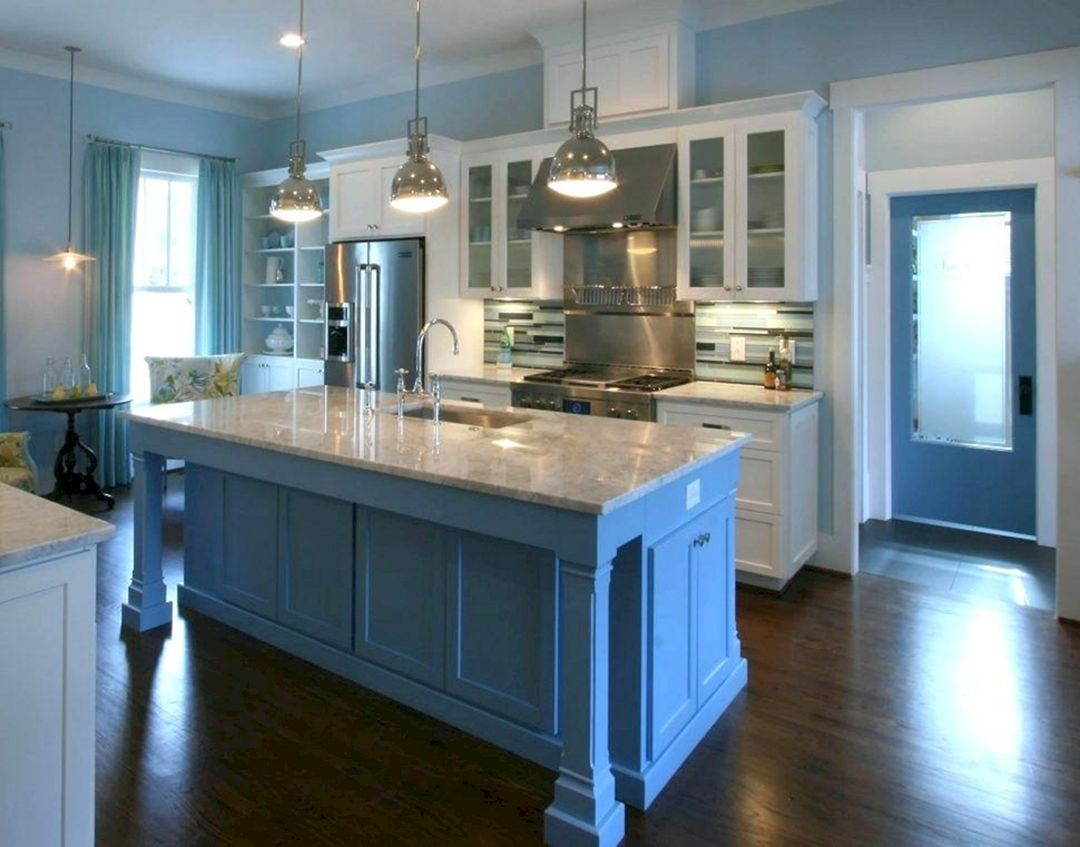 17 Awesome Paint Kitchen Cabinet Design For For Small Home ...