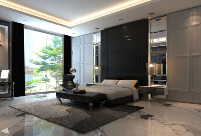 Charming Small Master Bedroom With Modern Concept Ideas