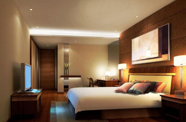 Cool Modern Master Bedroom Design ideas With Cool Lighting
