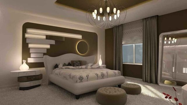 Gorgeous Grey And White Concept for Small Master Bedroom Ideas