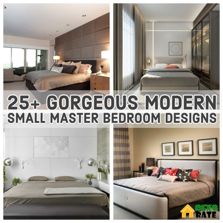 Gorgeous Modern Small Master Bedroom Designs