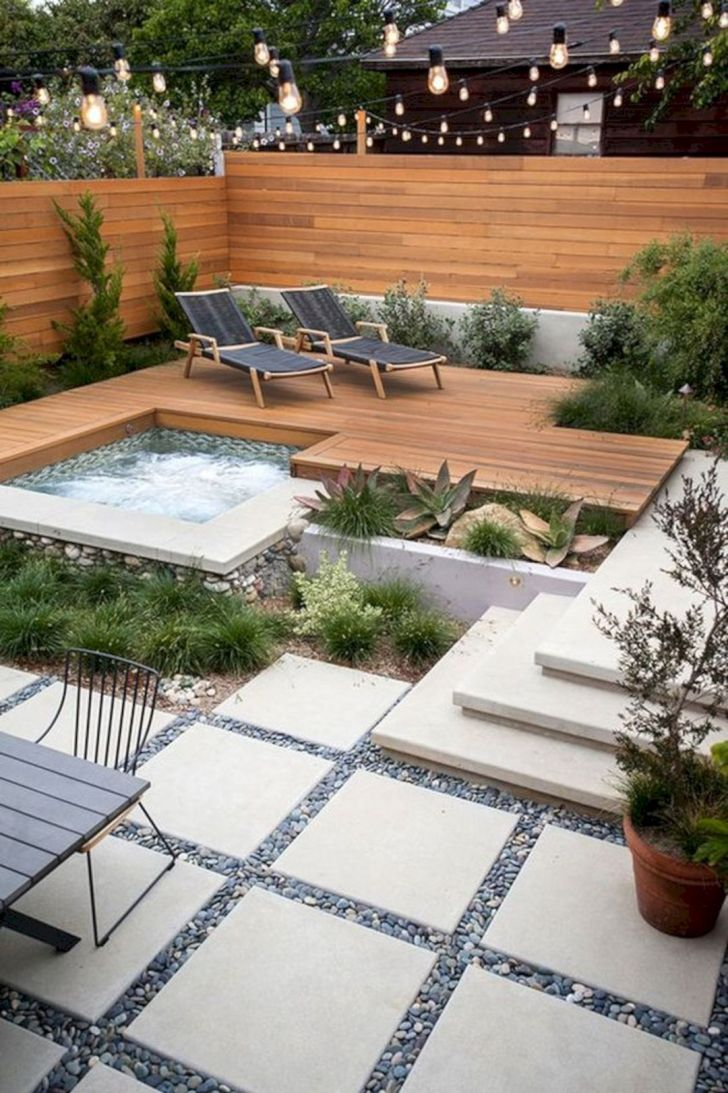 17 Incredible Modern Garden Deck Ideas To Makes Backyard Home Fresh Dexorate
