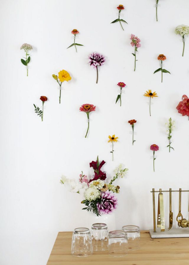 15 Gorgeous Diy Flower Wall Decoration For Beautiful Home Ideas Dexorate