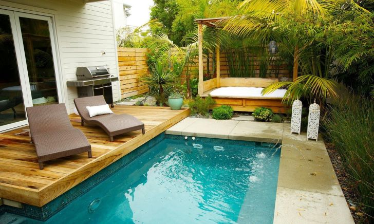 Small Backyard With Pool Design Ideas