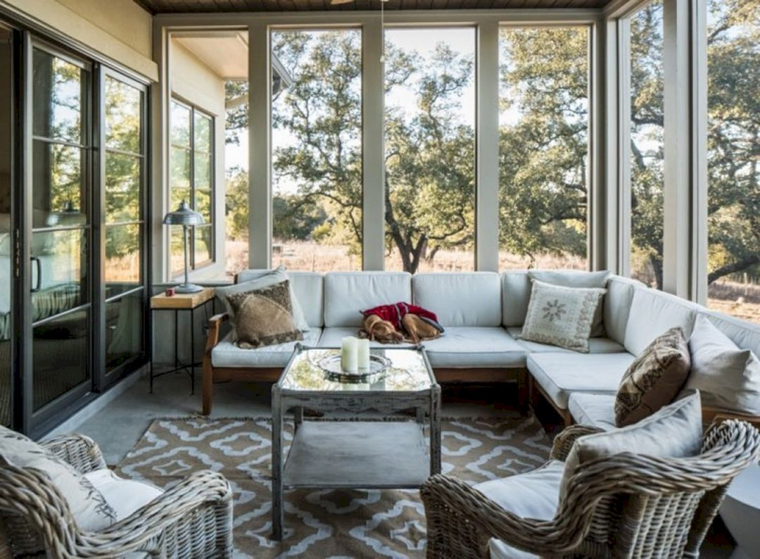 25+ Most Gorgeous Sunroom Decorating Ideas You Will Love - DEXORATE