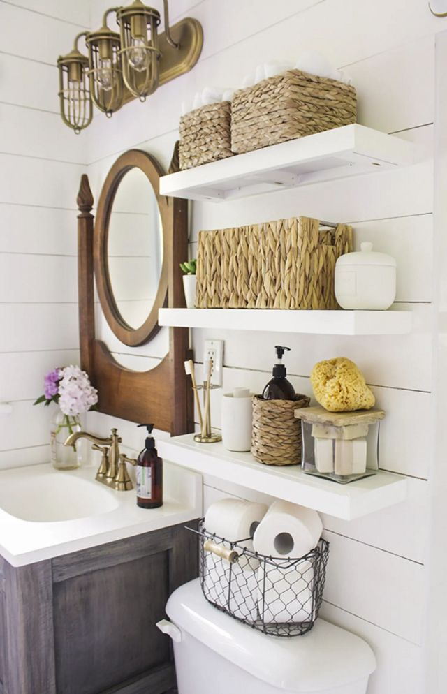 Bathroom Wall Shelves Ideas