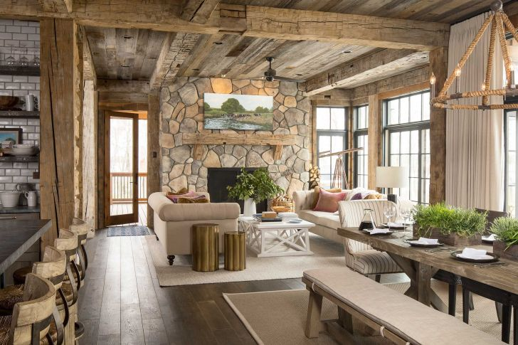 Best Home Interior With Rustic Style