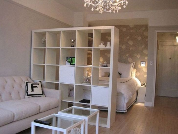12+ Awesome Apartment Studio Decoration Ideas With Divider - DEXORATE