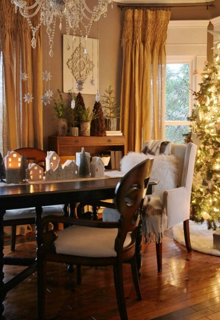 Rural themes that merge into Christmas